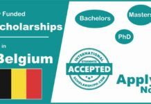 Scholarships in Belgium for International Students